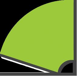 Slice colour green