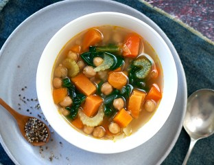 Chick Pea and Vegatable Soup