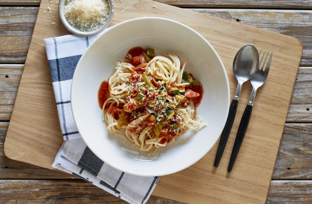 Fast Vegetable Pasta