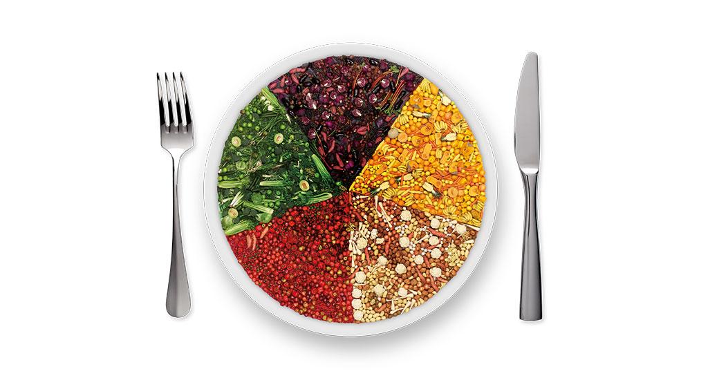 Colour recipe wheel