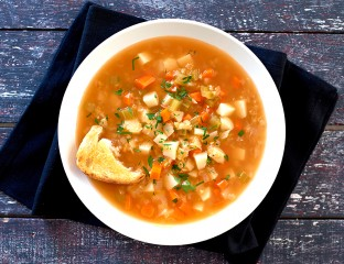 Vegetable and Lentil Soup