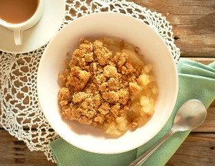Outback Apple Crumble