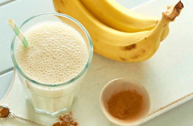 Banana Smoothie Healthier Happier Queensland