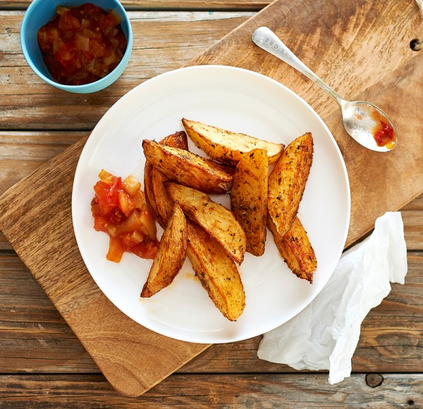 recipe: calories in potato wedges baked [20]