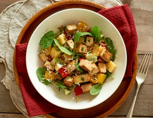 Tropical Tofu Salad