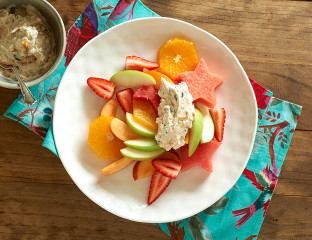 Fruit Platter with Yoghurt