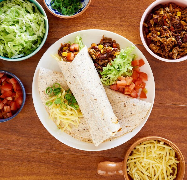 Beef And Bean Burritos Healthier Happier Queensland