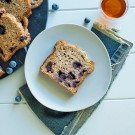 Blueberry and banana bread