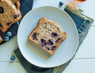 Blueberry and Banana Bread 0001