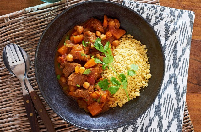 Lamb Tagine With Couscous 0001