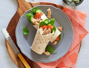 Salmon Salad Wrap 0001